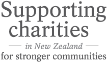 Charities Tag Line - Supporting Charities in New Zealand for Stronger Communities